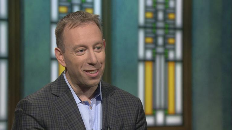 """Rabbi Seth Limmer appears on """"Chicago Tonight."""""""
