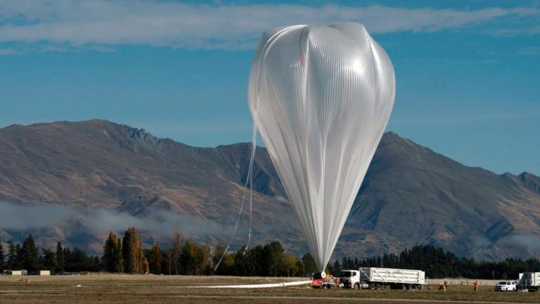 A team led by University of Chicago professor Angela Olinto will use a NASA super pressure balloon to study mysterious cosmic rays coming from beyond our own galaxy. (Angela Olinto / University of Chicago)