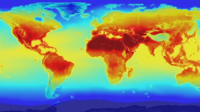 The 2016 global temperature is on track to break the annual record for the third year in a row, according to Gavin Schmidt, director of NASA's Goddard Institute for Space Studies. (NASA)