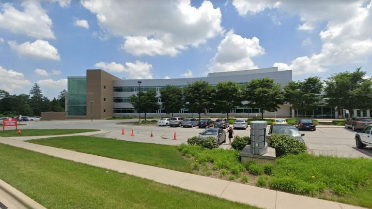 Naperville Central High School (Google Maps)