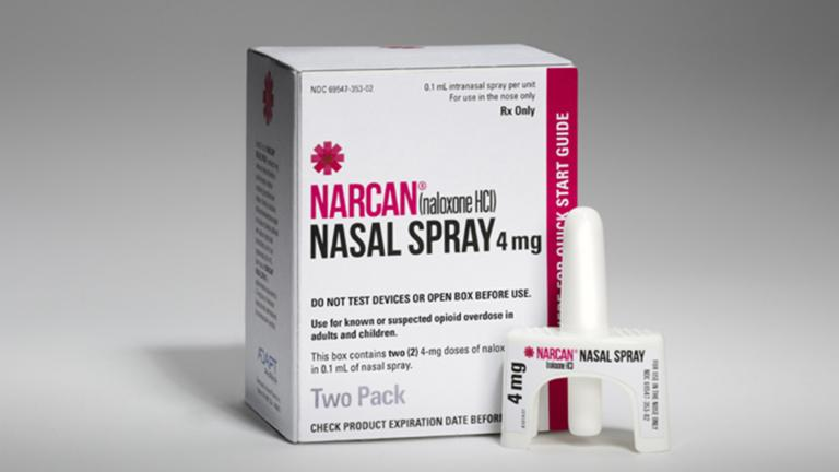 NARCAN® Nasal Spray (Courtesy of Adapt Pharma)