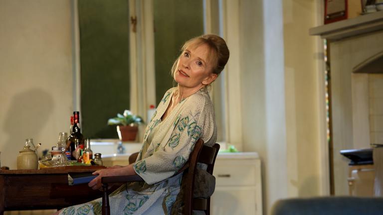 "Lindsay Duncan in ""Hansard."" (Catherine Ashmore / Courtesy NT Live)"