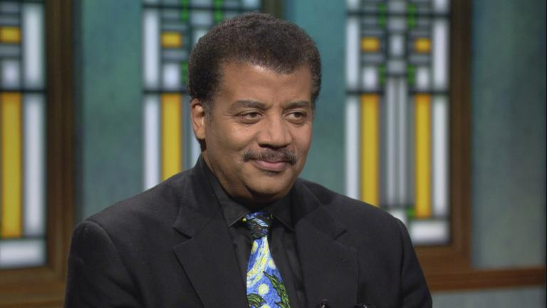 "Neil deGrasse Tyson appears on ""Chicago Tonight."""