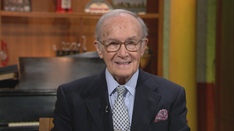 "Newton Minow appears on ""Chicago Tonight"" in an episode that aired July 23, 2015."