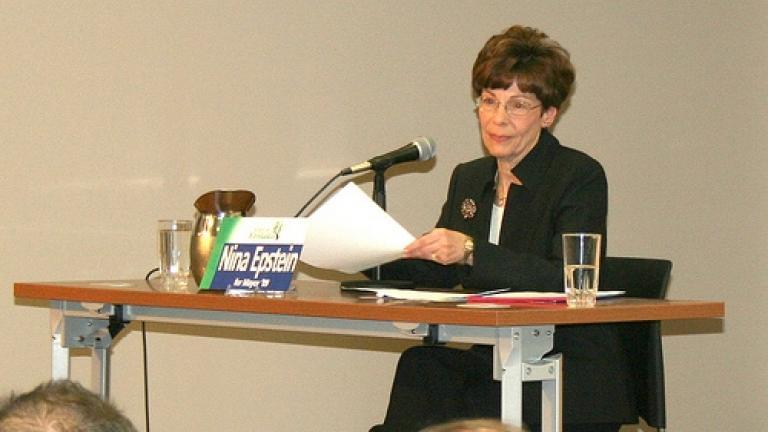 Nina Epstein. Image Credit: Kankakee Public Library