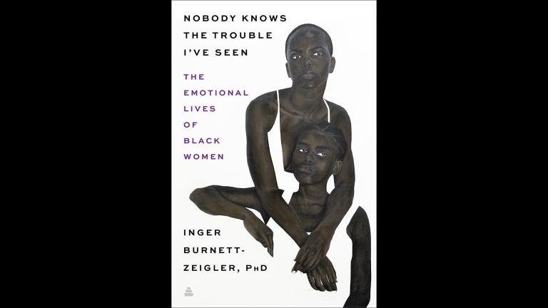 """The book cover for """"Nobody Knows The Trouble I've Seen: The Emotional Lives of Black Women."""" (WTTW News via Amistad)"""