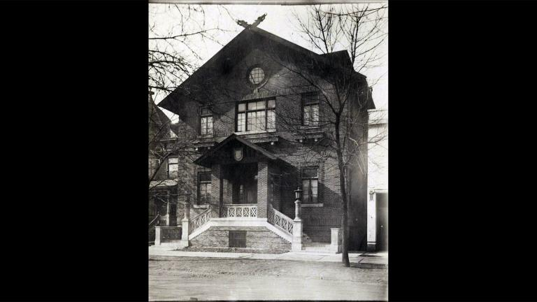 Opened in 1917, the Norske Club was a gathering place for events and parties, exhibits, musical and theater performances and dinners celebrating Norwegian heritage. (WTTW News)