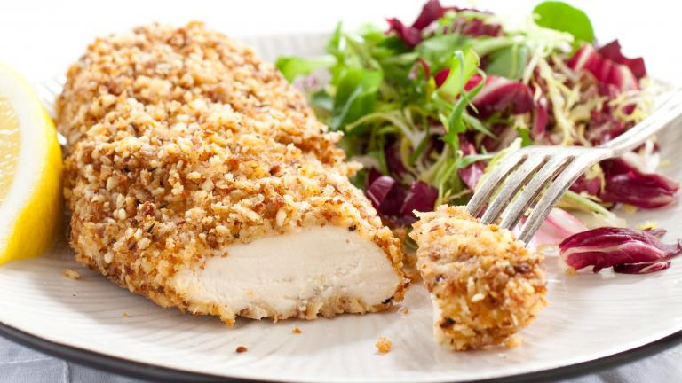Nut-Crusted Chicken Breasts. Image credit: America's Test Kitchen
