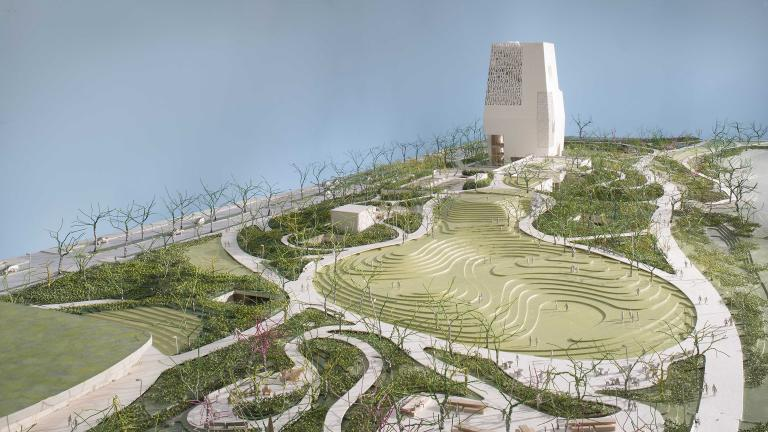 Obama Presidential Center rendering (Courtesy Obama Foundation)