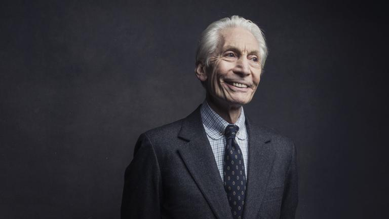 Charlie Watts of the Rolling Stones poses for a portrait on Nov. 14, 2016, in New York. (Photo by Victoria Will / Invision / AP, File)