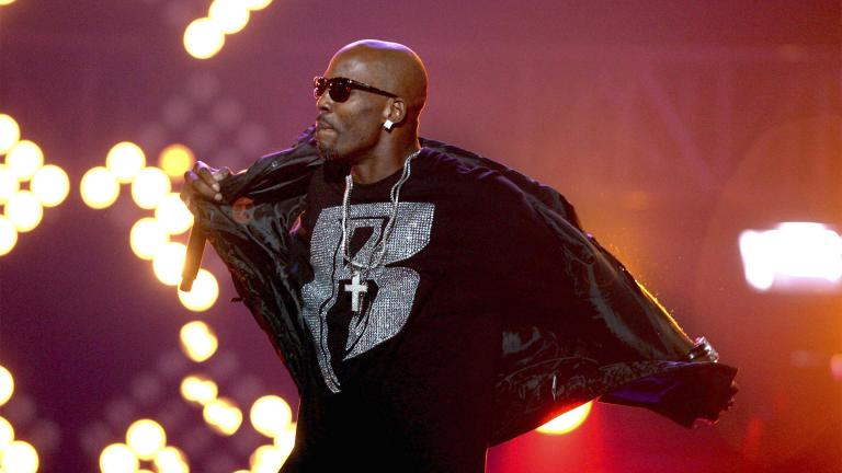 "The family of rapper DMX says he has died at age 50 after a career in which he delivered iconic hip-hop songs such as ""Ruff Ryders' Anthem."" A statement from the family says the Grammy-nominated rapper died at a hospital in White Plains, New York, ""with his family by his side after being placed on life support for the past few days. He was rushed to a New York hospital from his home April 2. (AP Photo / David Goldman, File)"