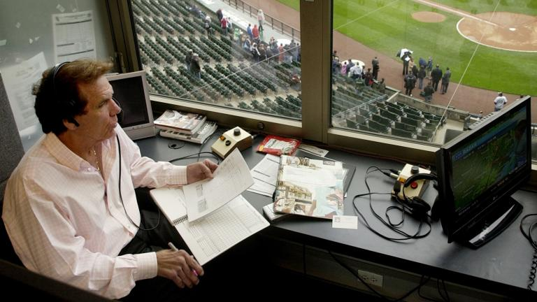 Ed Farmer, White Sox Broadcaster, Former Pitcher, Dies at 70 In this April 28, 2008, photo, radio broadcaster Ed Farmer is shown in the broadcast booth before a baseball game between the Baltimore Orioles and Chicago White Sox in Chicago. (Rich Hein / Chicago Sun-Times via AP, File)