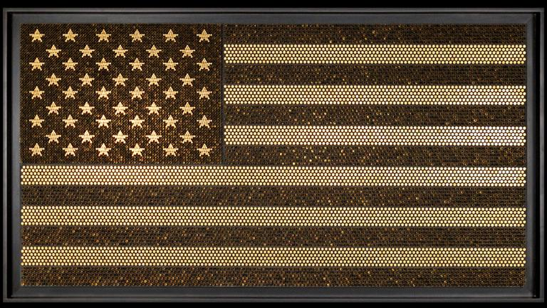"Evan Haase, ""Old Glory,"" 2015. (Courtesy of the Jackson Junge Gallery)"