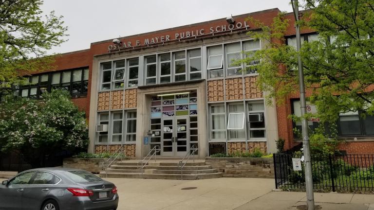 Oscar Mayer Magnet School (Matt Masterson / Chicago Tonight)