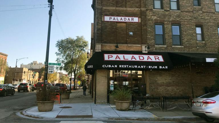 The now-closed Paladar Restaurant in Logan Square. (Facebook photo)