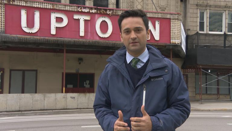 Paris Schutz reports from Uptown. (WTTW News)