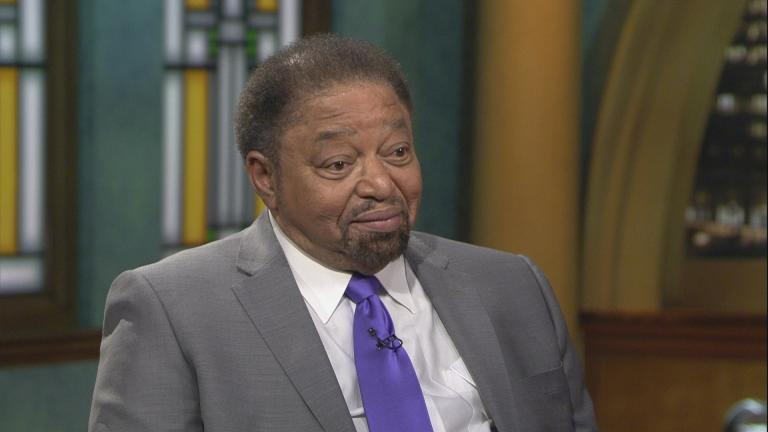 "Paul Adams III appears on ""Chicago Tonight"" on Jan. 20, 2020. (WTTW News)"