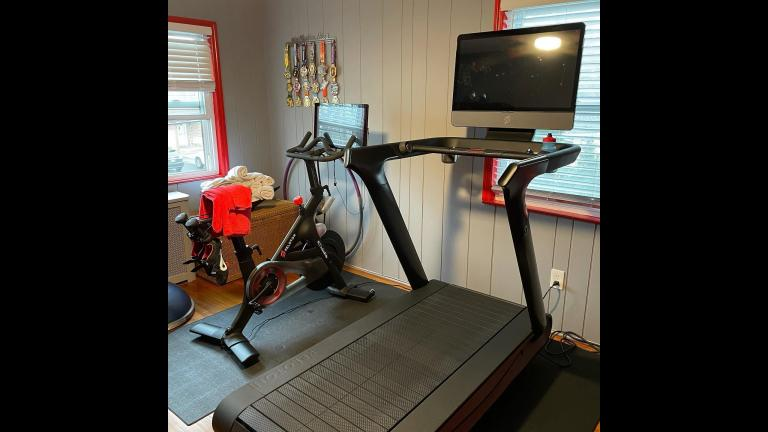 Exercise equipment company Peloton is recalling its treadmills after reports of injuries and the death of at least one child. (Peloton / Facebook)