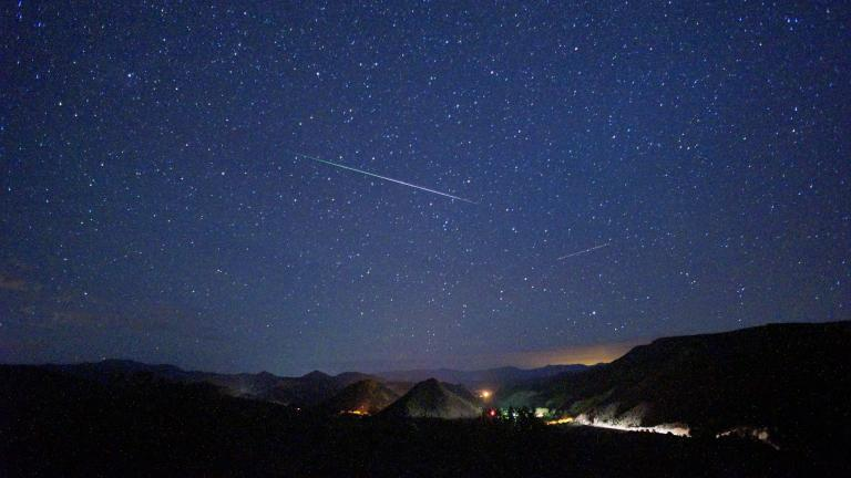The Perseid meteor shower will peak Tuesday night into Wednesday morning. (Mike Lewinski / Flickr)