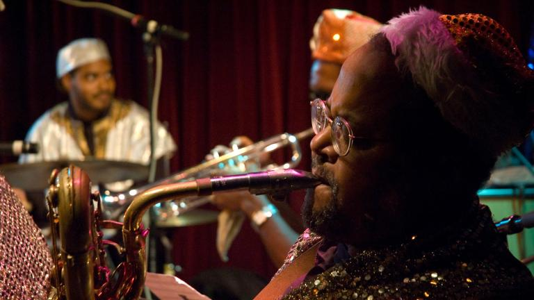 The Sun Ra Arkestra in 2008 (Martijn van Exel / Flickr)