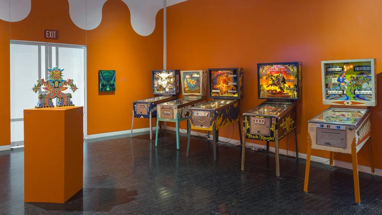 "From the exhibition ""Kings and Queens: Pinball, Imagists and Chicago."" (James Prinz / Elmhurst Art Museum)"