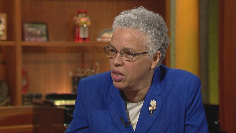 Cook County Board President Toni Preckwinkle