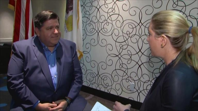 J.B. Pritzker sat down for an interview with Amanda Vinicky on Sunday, Jan. 13, 2019, a day before he was sworn in as Illinois' new governor.