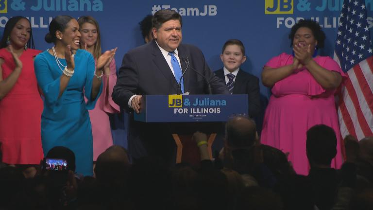J.B. Pritzker wins the Democratic nomination for Illinois governor in the primary election on March 20, 2018. (Chicago Tonight)