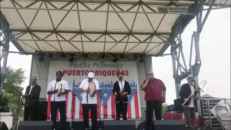 After taking a year and a half off due to the pandemic, the Puerto Rican Festival has returned for its 39th year in Humboldt Park. (Daniel Ramos / Puerto Rican Festival)