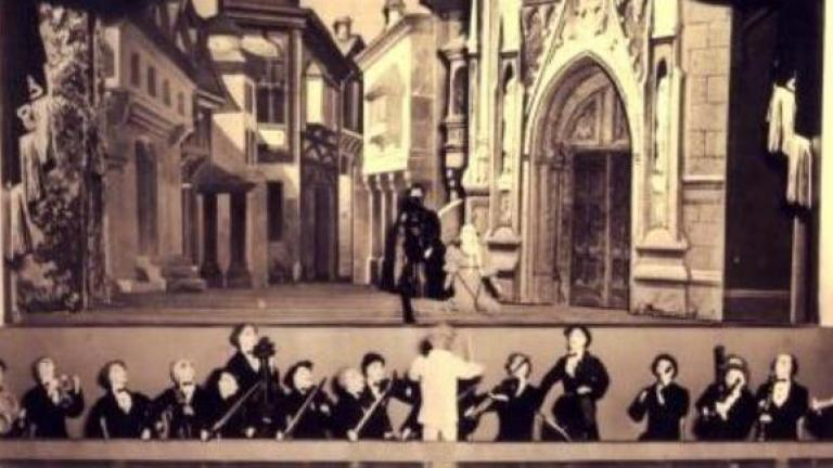 Kungsholm's staging of the third act from Giuseppe Verdi's Rigoletto.