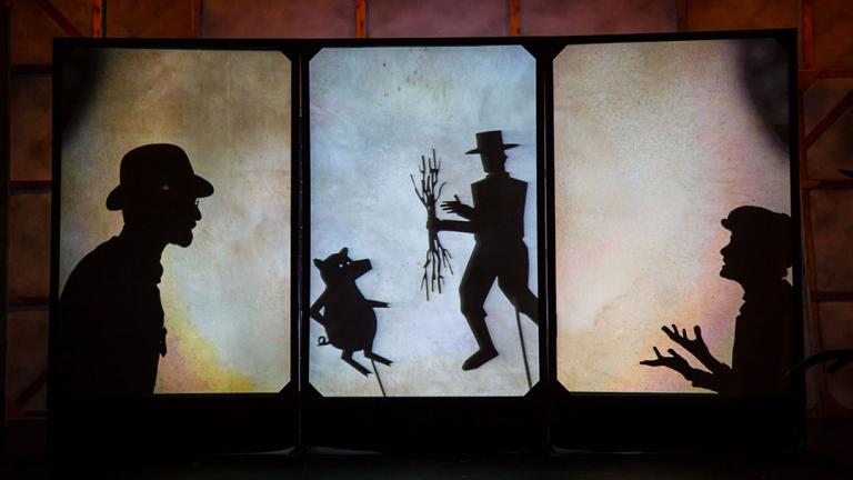 """Lookingglass Theatre presents """"Mr. and Mrs. Pennyworth"""" (Liz Lauren / Lookingglass Theatre)"""