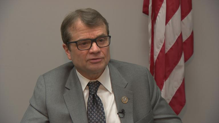 """There's solid evidence of obstruction, there are clear examples of collusion and conspiracy,"" said U.S. Rep. Mike Quigley of the redacted Mueller report released Thursday."