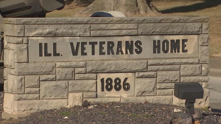 A file photo shows the Illinois Veterans Home at Quincy. (WTTW News)