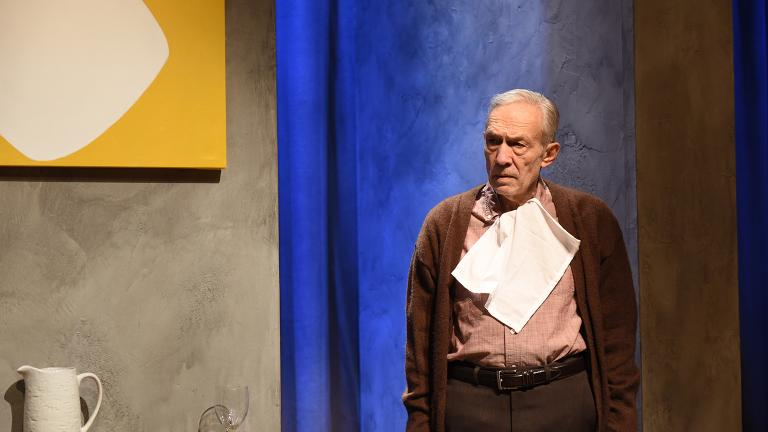 "David Darlow in ""The Father"" (Photo by Michael Courier)"