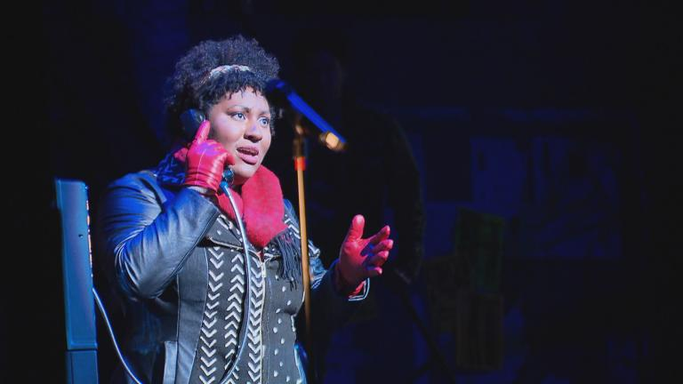 """""""Rent"""" kicked off its 25th anniversary tour in Chicago. (WTTW News)"""