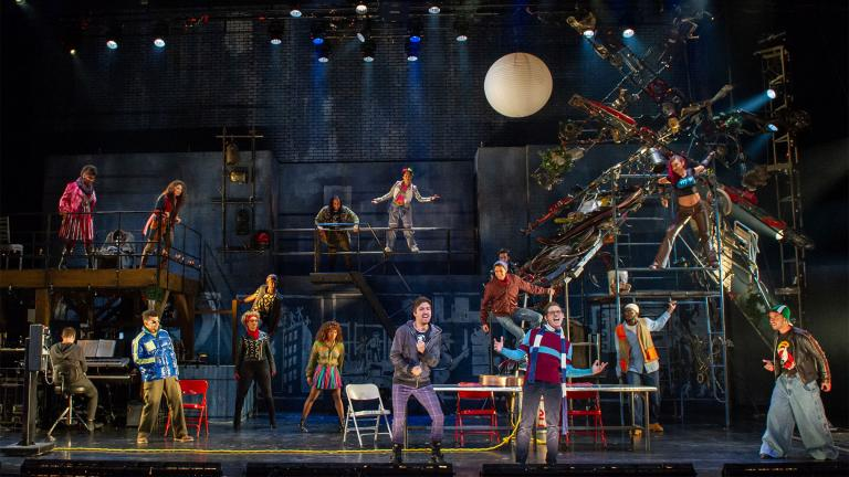 The Company of the RENT 20th Anniversary Tour RENT 20th Anniversary Tour (Credit Amy Boyle 2019).
