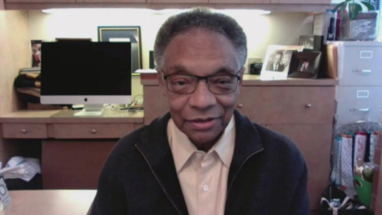 Ramsey Lewis speaks with WTTW News via videoconference.