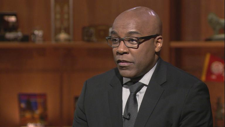 "Illinois Attorney General Kwame Raoul appears on ""Chicago Tonight"" on Feb. 21, 2019."