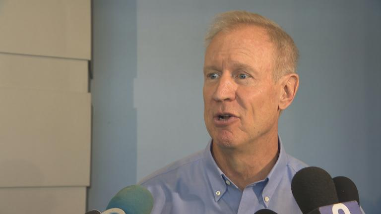 """Gov. Bruce Rauner: """"I hope he's been doing something illegal and I hope he gets prosecuted."""""""