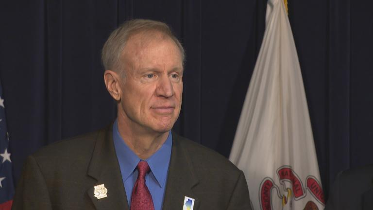 Gov. Bruce Rauner (Chicago Tonight file photo)