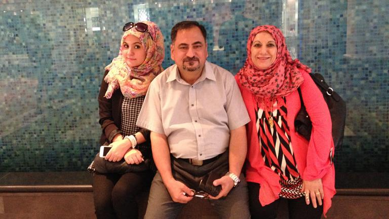 The Al-Obaidi family recently resettled in Chicago.
