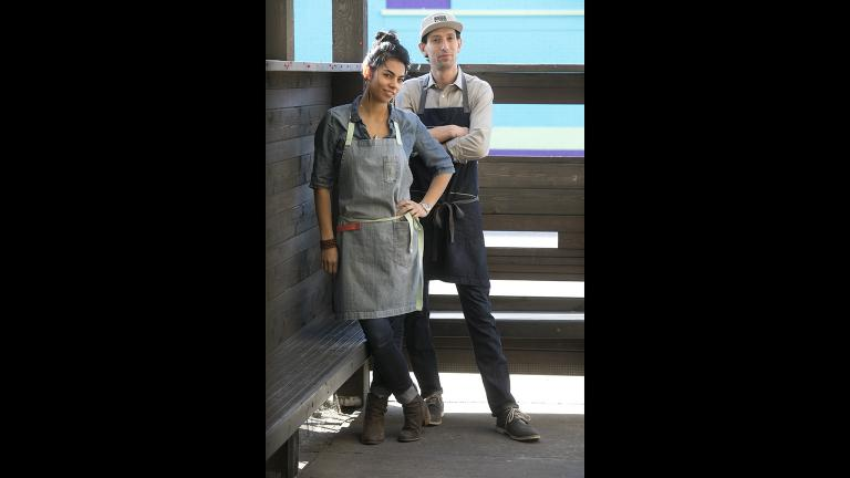 Chefs and restaurant co-owners Abe Conlon and Adrienne Lo. (Courtesy of Maria Ponce)