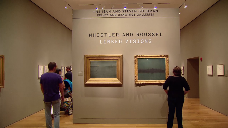 'Whistler and Roussel' at the Art Institute of Chicago
