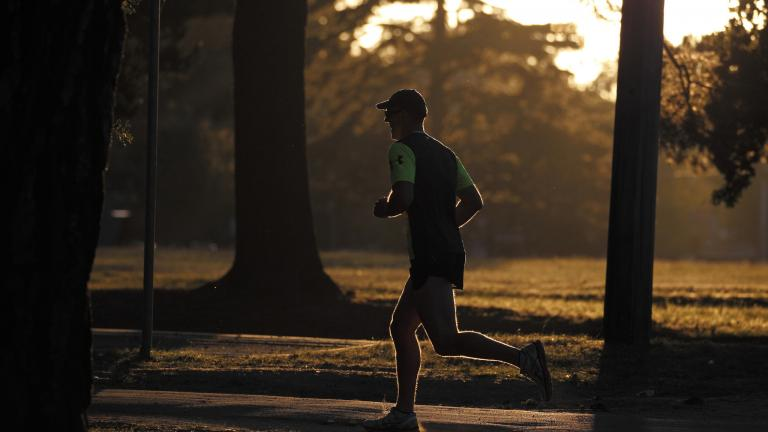 The Chicago Area Runners Association is hosting a free safety and self-defense seminar for runners on Thursday. (Ed Dunens / Flickr)