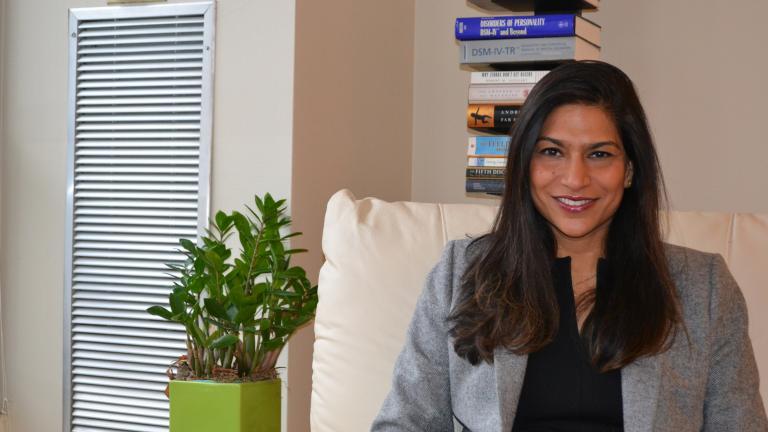 Shaifali Sandhya (Kristen Thometz / Chicago Tonight)