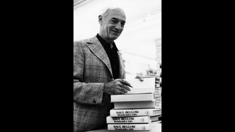 Saul Bellow (Photo: John Vail / Special Collections Research Center, University of Chicago Library)