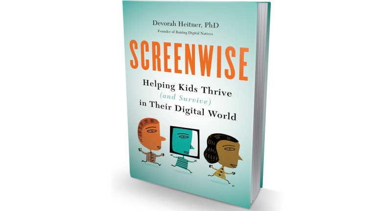 "The new book ""Screenwise: Helping Kids Thrive (and Survive) in Their Digital World"" by Devorah Heitner."