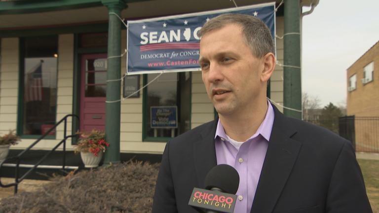 Sean Casten (WTTW News)