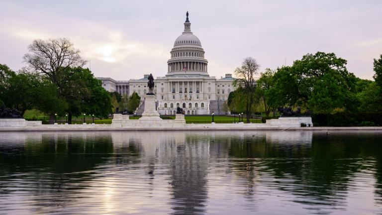 This April 28, 2021, file photo shows the U.S. Capitol building in Washington. (AP Photo / J. Scott Applewhite, File)