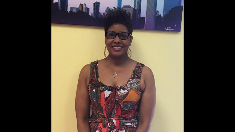 "Chicago police officer Shelisa Jones hopes her planned interfaith prayer vigil at Soldier Field will bring peace to Chicago. ""We've gotten so callous with what's happening. How can we be like that?"" she said. (Courtesy of Shelisa Jones)"